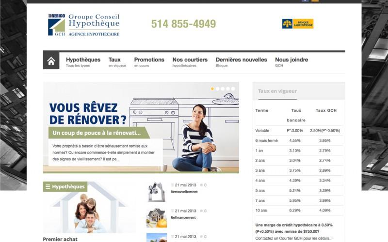 Groupe Conseil Hypothèque